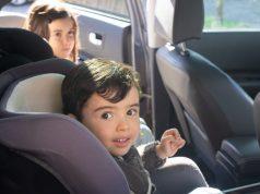 Children in booster seats