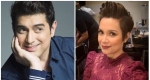 Ian Veneracion and Lea Salonga