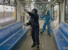 MRT disinfection