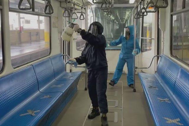 MRT disinfection