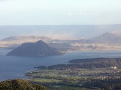 Taal Volcano file photo