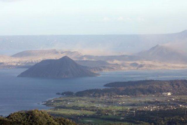 Taal Volcano file photo