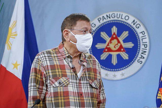 Duterte in April 28 Speech