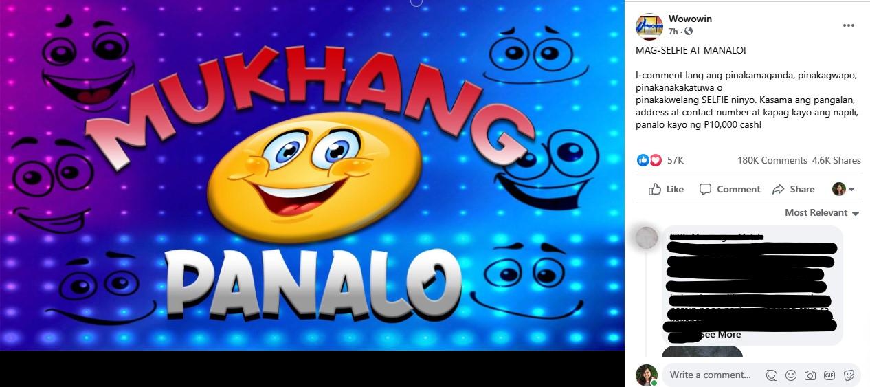Mukhang Panalo