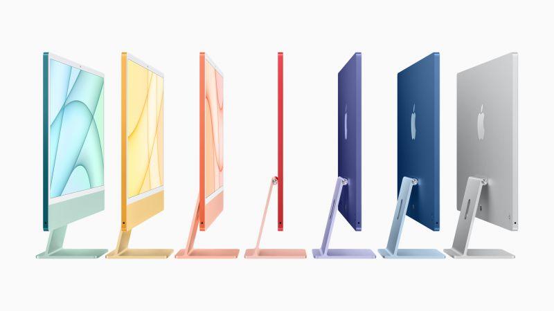 iMac colors 2021