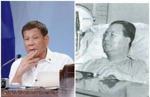 Duterte and Elpidio Quirino