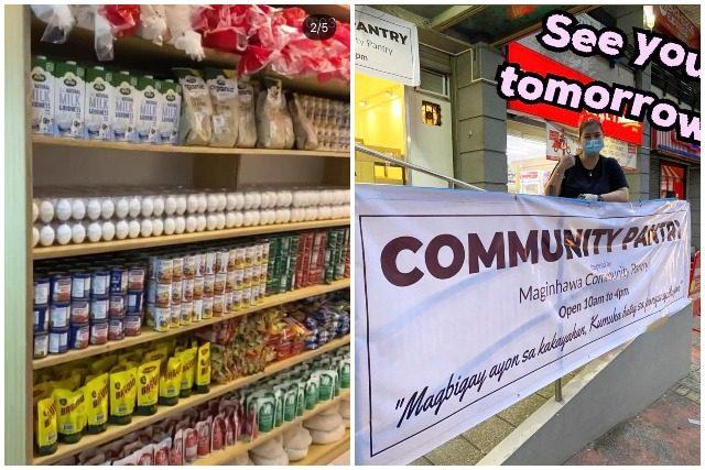 Angel Locsin's community pantry
