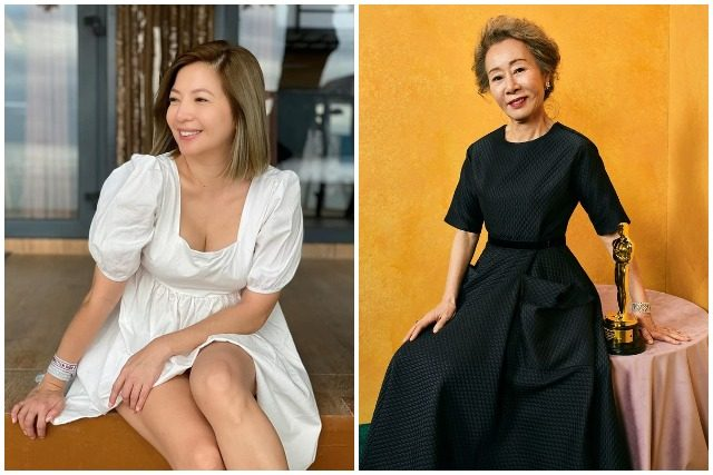 Maui Taylor and Youn Yuh-jung