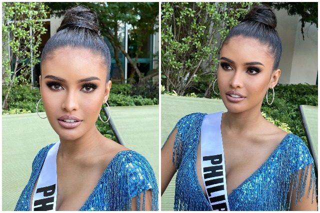 Rabiya Mateo BTS of Miss Universe video shoot