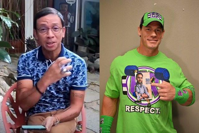 Kuya Kim and John Cena