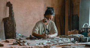 Heritage conservation worker