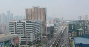 Metro Manila haze