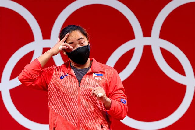 Hidilyn Diaz at Tokyo Olympics 2020