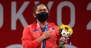 Hidilyn Diaz in Tokyo Olympics 2020