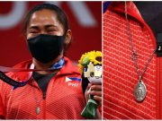 Hidilyn Diaz miraculous medal
