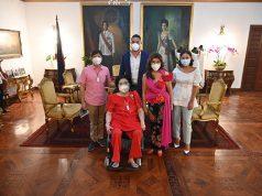 The Zamora family and the Marcos family