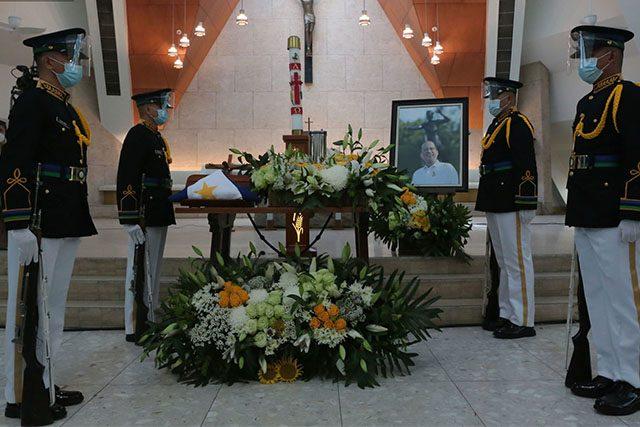 Noynoy Aquino urn viewing
