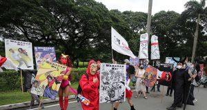 SONA 2021 protesters