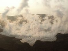Taal Volcano footage