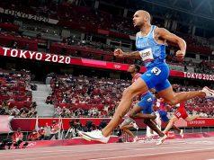 Athlete in Tokyo Olympics