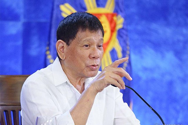 Duterte in Talk to the People