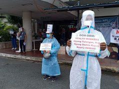 HCW protest