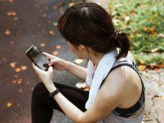 Jogger wtih phone
