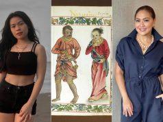Lyca Karen with pre-colonial Filipinos