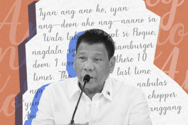 Duterte's Poetry of Incoherence