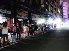 vaccination queue Manila
