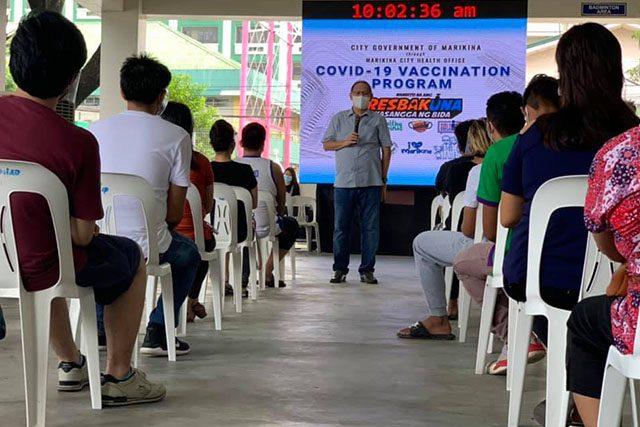 Marikina COVID-19 vaccination