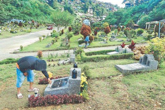 Baguio cemetery