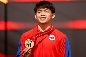 Olympics recognizes Carlos Yulo's wins at world championships