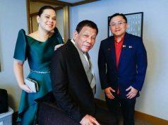 Duterte, Rodrigo and Sara and Bong Go
