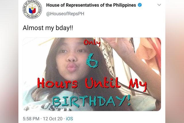 La publicación de 'Feliz cumpleaños anticipada' en la cuenta de Twitter de House recibe saludos de aniversario