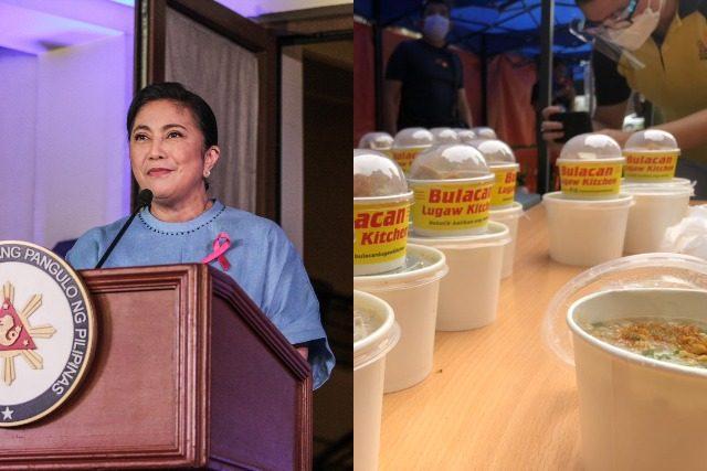 Leni Robredo and rice porridge